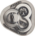 Explorers:Space Exploration, Skylab III (SL-4) Unflown Robbins Silver Medallion Directly fromthe Personal Collection of Mission Pilot William Pogue, Seria...