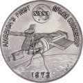 """Explorers:Space Exploration, Skylab: """"America's First Space Workshop"""" Large Platinum MedalDirectly from the Personal Collection of Skylab 4 Pilot William ..."""