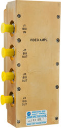 Explorers:Space Exploration, Apollo-Era Hardware: Video Amplifier. ...