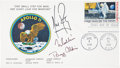 "Autographs:Celebrities, Apollo 11 Crew-Signed ""First Man on Moon"" First Day Cover...."