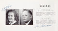 Explorers:Space Exploration, Neil Armstrong Signed 1947 Blume High School Yearbook, TheRetrospect, Wapakoneta, Ohio. ...