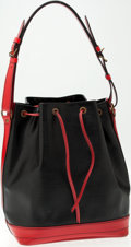 Luxury Accessories:Bags, Heritage Vintage: Louis Vuitton Black and Red Epi Leather NoeShoulder Bag. ...
