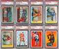 Hockey Cards:Lots, 1953 - 1963 Parkhurst PSA Graded Collection (11). ...