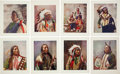 Non-Sport Cards:Sets, Vintage Burkley Print Co. Native American Portrait PremiumsCollection (14). ...