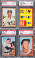 Baseball Cards:Sets, 1962 Topps Baseball Complete Set (598) With Variations (7) And Wrapper. ...