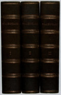 Books:Fine Bindings & Library Sets, William Shakespeare. The Works. Routledge, Warne & Routledge, 1862. Three octavo volumes. Spine sunned, some wear, s... (Total: 3 Items)