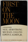 Books:Americana & American History, Gene Farmer and Dora Jane Hamblin. First On the Moon: A VoyageWith Neil Armstrong, Michael Collins, Edwin E. Aldrin Jr...