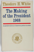 Books:Americana & American History, Theodore H. White. INSCRIBED. The Making of the President1968. Atheneum Publishers, 1969. First edition. Inscri...