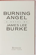 Books:Mystery & Detective Fiction, James Lee Burke. SIGNED LIMITED EDITION. Burning Angel.Hyperion, 1995. Limited edition of 150 copies signed by ...