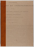 Books:Americana & American History, W. Thomas Taylor. SIGNED LIMITED EDITION. Texfake: An Account ofthe Theft and Forgery of Early Texas Printed Documents...