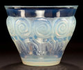 Art Glass:Lalique, R. LALIQUE OPALESCENT GLASS RENNES VASE . Circa 1933.Stenciled: R. LALIQUE, FRANCE . 4-3/4 inches high (12.1 cm...