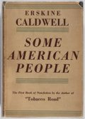 Books:Americana & American History, Erskine Caldwell. INSCRIBED. Some American People. Robert M.McBride & Company, 1935. First edition. Inscribed b...