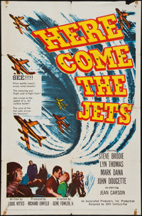 "Here Come the Jets (20th Century Fox, 1959). One Sheet (27"" X 41""). War"