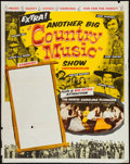 "Movie Posters:Musical, Another Big Country Music Show (Unknown, 1960). Stock Poster (30"" X 40""). Musical.. ..."