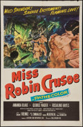 "Movie Posters:Adventure, Miss Robin Crusoe (20th Century Fox, 1953 & R-1950s). OneSheets (2) (27"" X 41""). Adventure.. ... (Total: 2 Items)"