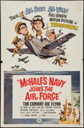 """Movie Posters:Comedy, McHale's Navy Joins the Air Force (Universal, 1965). One Sheet (27"""" X 41""""). Comedy.. ..."""