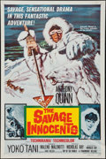 "Movie Posters:Adventure, The Savage Innocents (Paramount, 1960). One Sheet (27"" X 41"").Adventure.. ..."