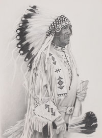 DON V. (DONALD) CROWLEY (American, b. 1926) In Full Dress Pencil on paper 24 x 18 inches (61.0 x