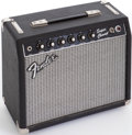 Musical Instruments:Amplifiers, PA, & Effects, 1983 Fender Super Champ Black Guitar Amplifier, Serial #F307493....