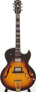 Musical Instruments:Electric Guitars, 1962 Gibson ES-175 Sunburst Semi-Hollow Body Electric Guitar,Serial # 48129. ...