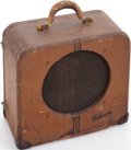 Musical Instruments:Amplifiers, PA, & Effects, Circa 1940 Gibson EH-100 Tweed Guitar Amplifier....