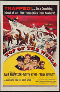 "Movie Posters:Adventure, Top of the World (United Artists, 1955). One Sheet (27"" X 41"").Adventure.. ..."