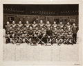 Hockey Collectibles:Photos, 1935-36 Detroit Red Wings Team Signed Photograph - From Franchise'sFirst Stanley Cup Championship Season!...