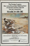 "Movie Posters:War, March or Die and Other Lot (Columbia, 1977). One Sheets (2) (27"" X41""). War.. ... (Total: 2 Items)"