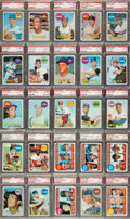 Baseball Cards:Sets, 1969 Topps Baseball Complete Set (664) With 633 PSA Graded Cards! ...