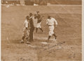 "Autographs:Photos, 1933 Lou Gehrig Signed ""2nd Home Run"" Large Photograph...."