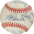 Autographs:Baseballs, 1980's 500 Home Run Club Signed Baseball.. ...
