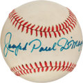 Autographs:Baseballs, Circa 1980 Joseph Paul DiMaggio Single Signed Baseball....
