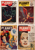 Pulps:Science Fiction, Planet Stories Box Lot (Fiction House, 1944-55) Condition: AverageVG....