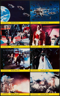 "Message from Space (United Artists, 1978). Mini Lobby Card Set of 8 (8"" X 10""). Science Fiction. ... (Total: 8..."