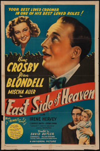 "East Side of Heaven (Universal, 1939). One Sheet (27"" X 41""). Comedy"