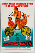 "Movie Posters:Blaxploitation, Brotherhood of Death (Downtown Dist., 1976). One Sheet (27"" X 41"").Blaxploitation.. ..."