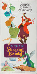 "Movie Posters:Animation, Sleeping Beauty (Buena Vista, R-1970). Three Sheet (39"" X 76""). Animation.. ..."