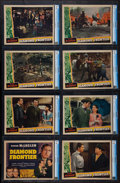 "Movie Posters:Adventure, Diamond Frontier (Universal, 1940). CGC Graded Lobby Card Set of 8(11"" X 14""). Adventure.. ... (Total: 8 Items)"