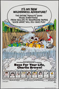 "Movie Posters:Animation, Race for Your Life, Charlie Brown (Paramount, 1977). One Sheet (27"" X 41"") Flat Folded. Animation.. ..."