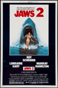 "Movie Posters:Horror, Jaws 2 (Universal, 1978). One Sheet (27"" X 41"") Flat Folded. Horror.. ..."