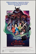 "Movie Posters:Animation, The Black Cauldron (Buena Vista, 1985). One Sheet (27"" X 41"").Animation.. ..."