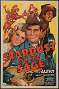 """Movie Posters:Western, Stardust on the Sage (Republic, 1942). One Sheet (27"""" X 41""""). Western.. ..."""