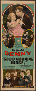 "Movie Posters:Comedy, Good Morning Judge (Universal, 1928). Insert (14"" X 36""). Comedy....."