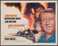 "Movie Posters:Action, Hellfighters (Universal, 1969). Half Sheet (22"" X 28""). Action....."