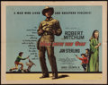 """Movie Posters:Western, Man with the Gun & Other Lot (United Artists, 1955). Half Sheets (2) (22"""" X 28""""). Western.. ... (Total: 2 Items)"""