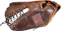 Baseball Collectibles:Others, Late 1940's Stan Musial Game Used Fielder's Glove....