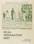 Miscellaneous Collectibles:General, 1975 Steve Prefontaine Final Race Program & Original SnapshotPhotographs from the Day Before His Death....