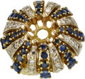 Estate Jewelry:Rings, Diamond, Sapphire, Gold Ring Mounting. ...