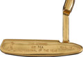 Golf Collectibles:Miscellaneous, 1981 John Gerring Presentational Gold Plated Ping Putter....