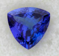 Estate Jewelry:Unmounted Gemstones, Unmounted Tanzanite Trillion Gemstone. ...